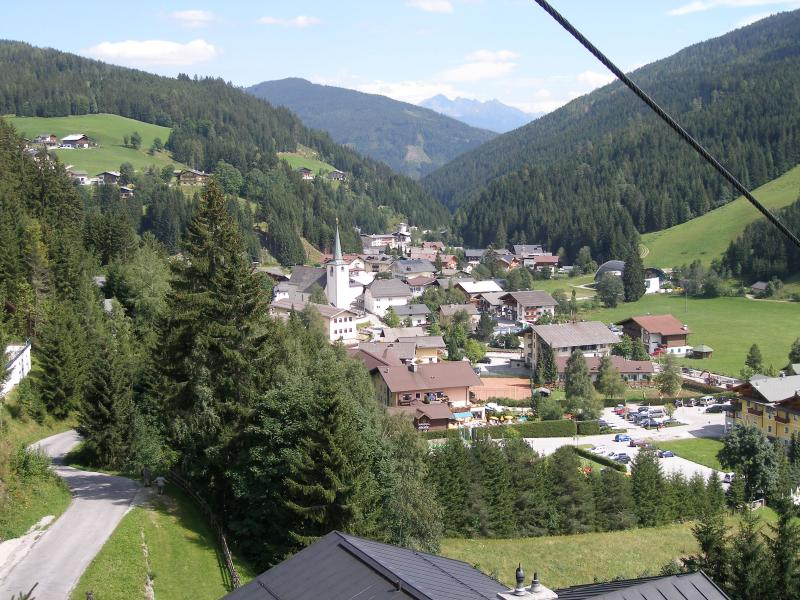 Filzmoos from the Grossberg chair lift