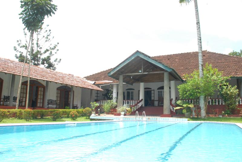 Bungalow e piscina