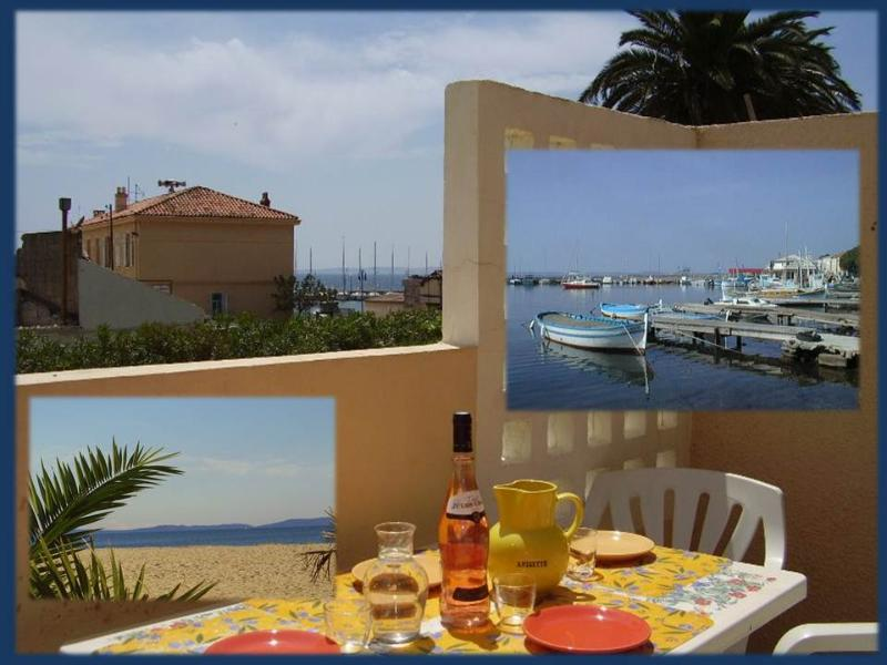 Charming seaside apartment with south facing sunny terrace, only steps to sandy beach.