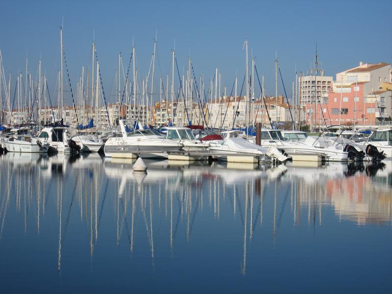 The harbour at Cap d'Agde