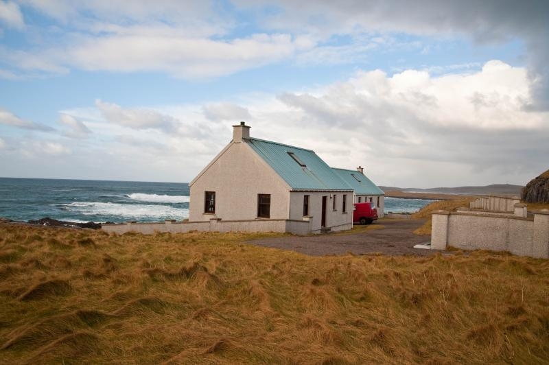 Why don't you come to relax & unwind in my lovely ocean view cottage on the beautiful Isle of Barra?