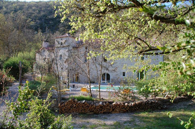 MOULIN DE GAUTY - chambre verte (triple), holiday rental in Verrieres