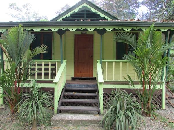 Amarilla House - The front
