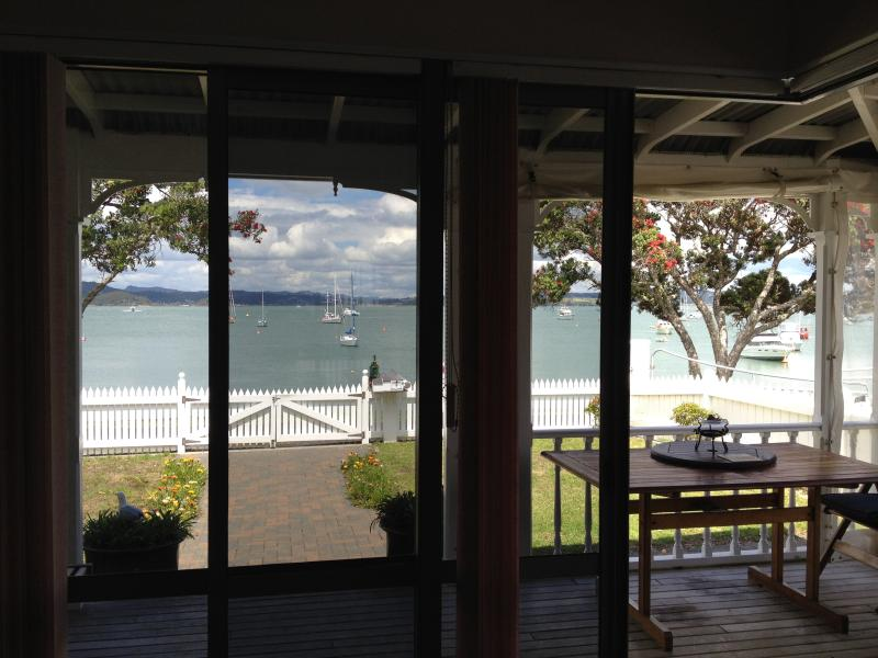 Waterfront views from the lounge