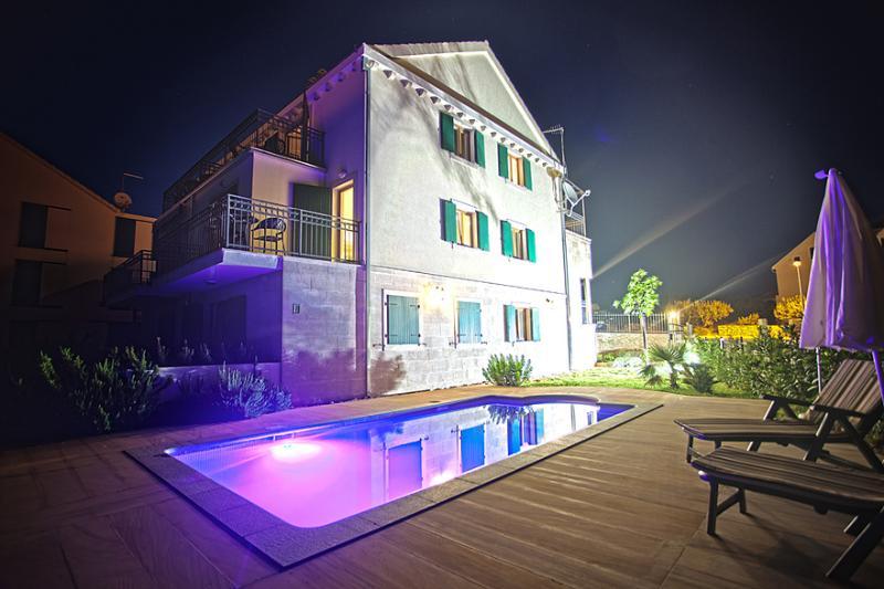 Villa Milena @ Night