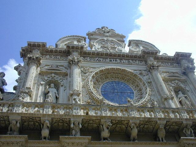 Lecce: Santa Croce.