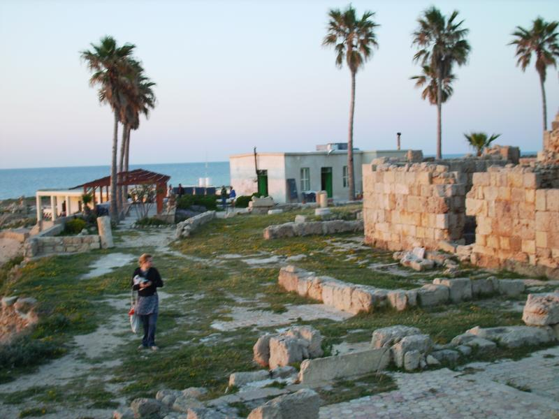 Historic Roman harbour near Karpaz