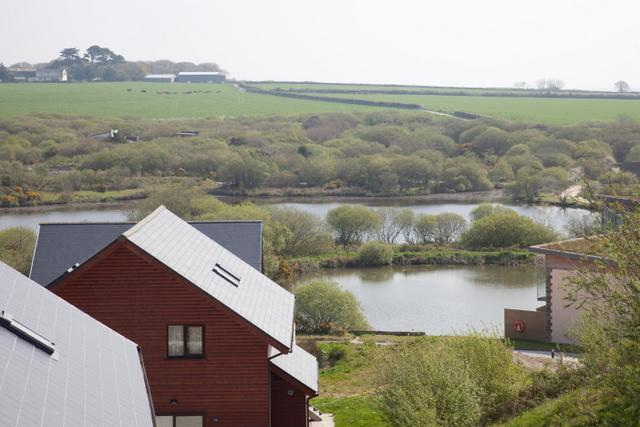 VIEW OVER THE FISHING LAKES