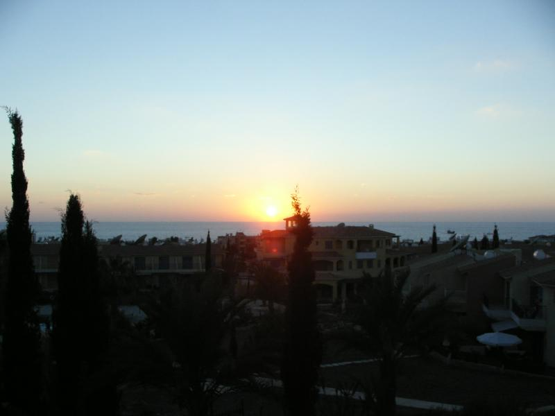 Paphos sunsets (Seen from the Balcony)