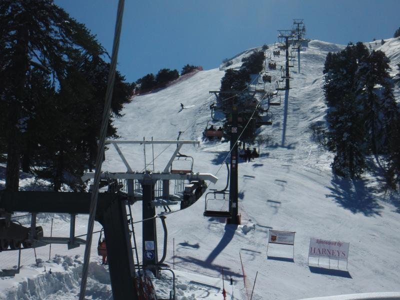 Skiing in the Troodos Mountains - Feb 2012