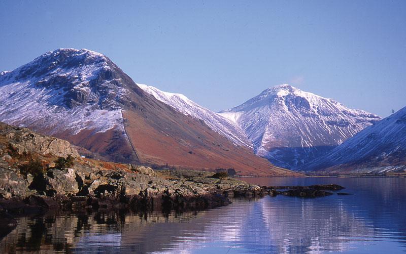 Yewbarrow Mountain in Winter - a tough climb if you like a challenge!