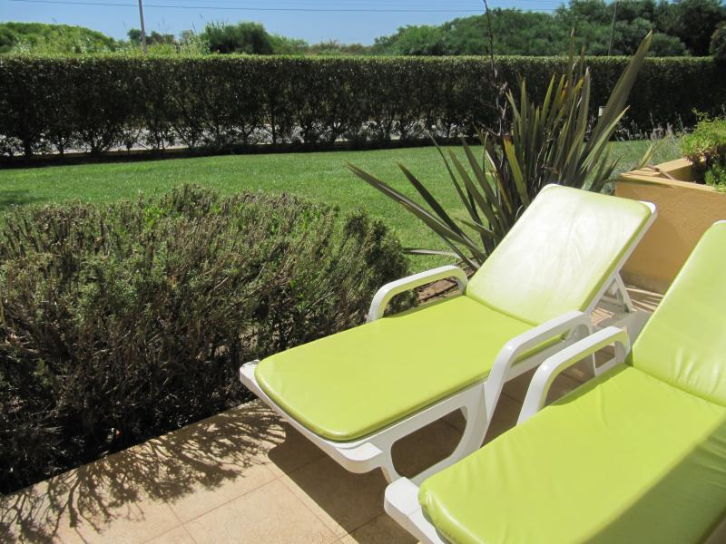 Lounge chairs in the Terrace