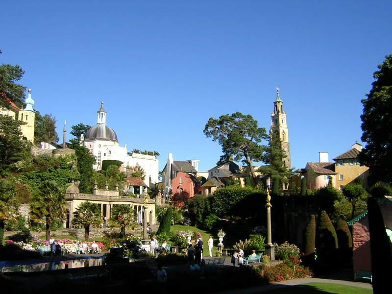 Portmeirion - about a 10 minute drive away