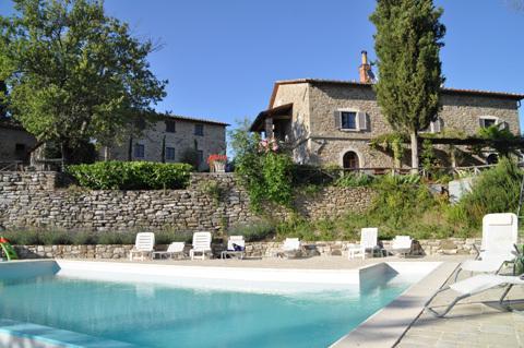 Villa Calcina, Beautiful Tuscan Farmhouse, aluguéis de temporada em Sansepolcro