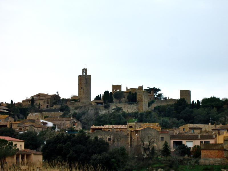 Pals medieval village.- SA PUNTA COSTA BRAVA