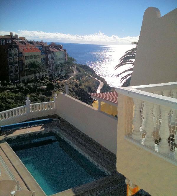a la mar desde terraza del primer piso