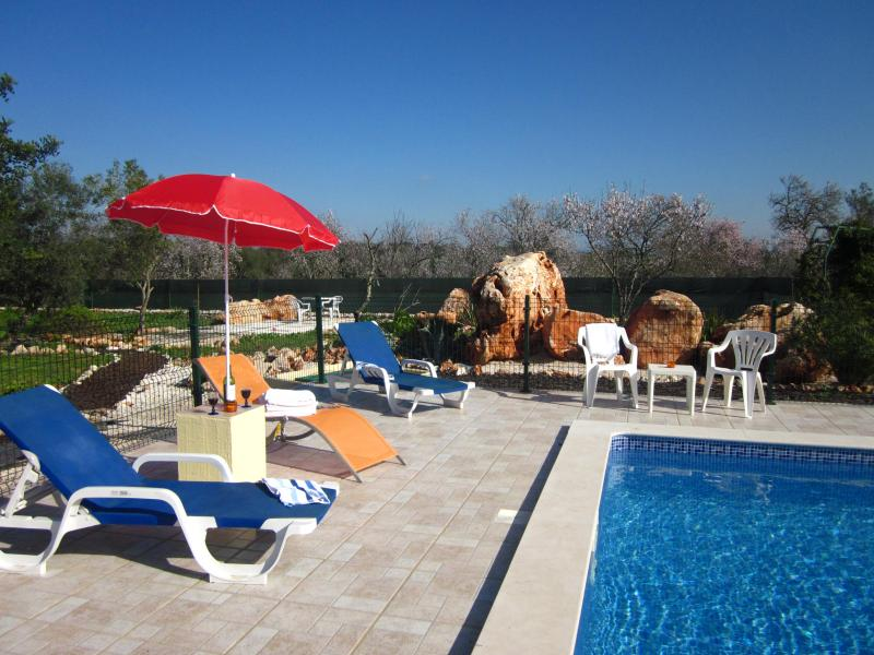 Pool Area with view of Garden