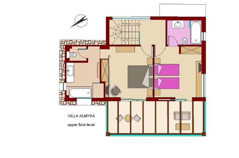 Almyra residence 1st floor 2bedrooms with ensuite bathrooms
