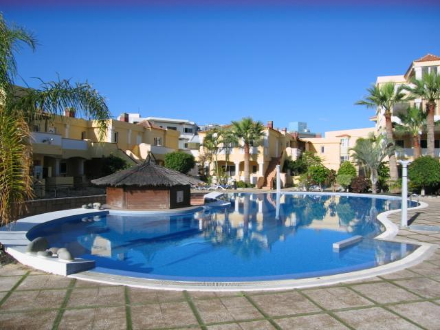 Large heated communal pool