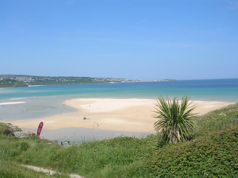 The beach in front of Chyreene Court