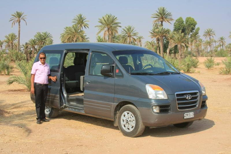 Airport transfer on arrival included 24/7
