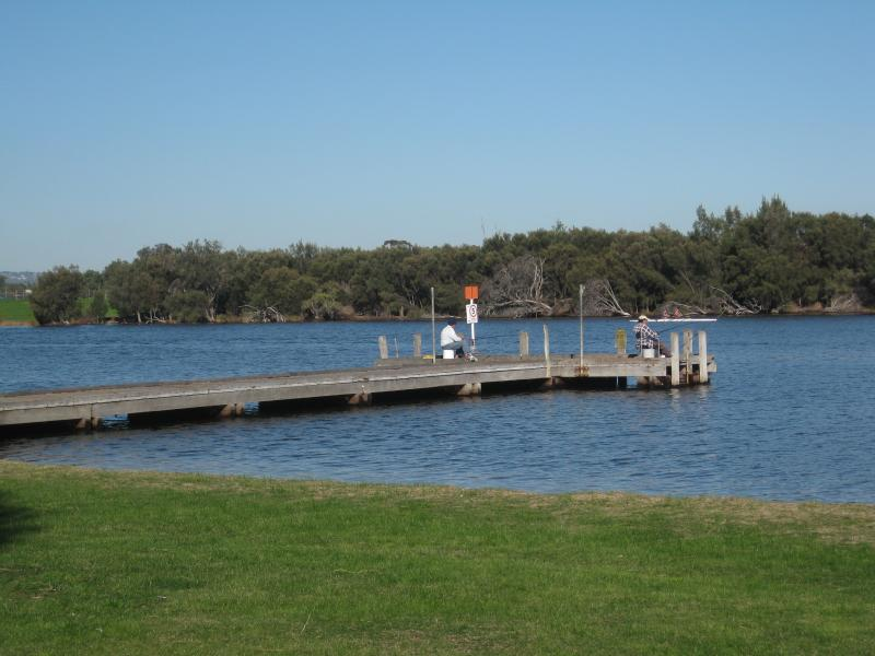 A spot of fishing at Bayswater Jetty