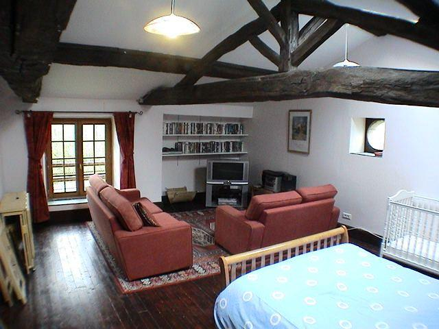 The Mill 2nd Lounge/Master Bedroom