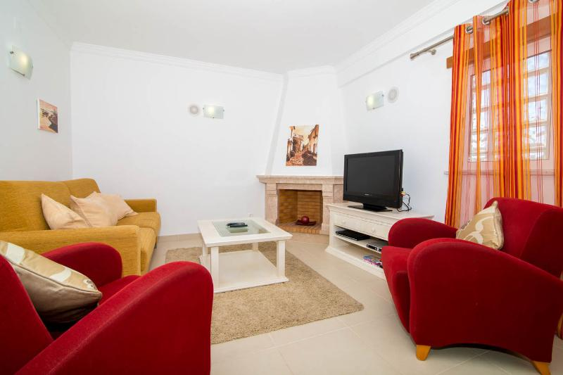 Lounge with UK TV available and DVD player