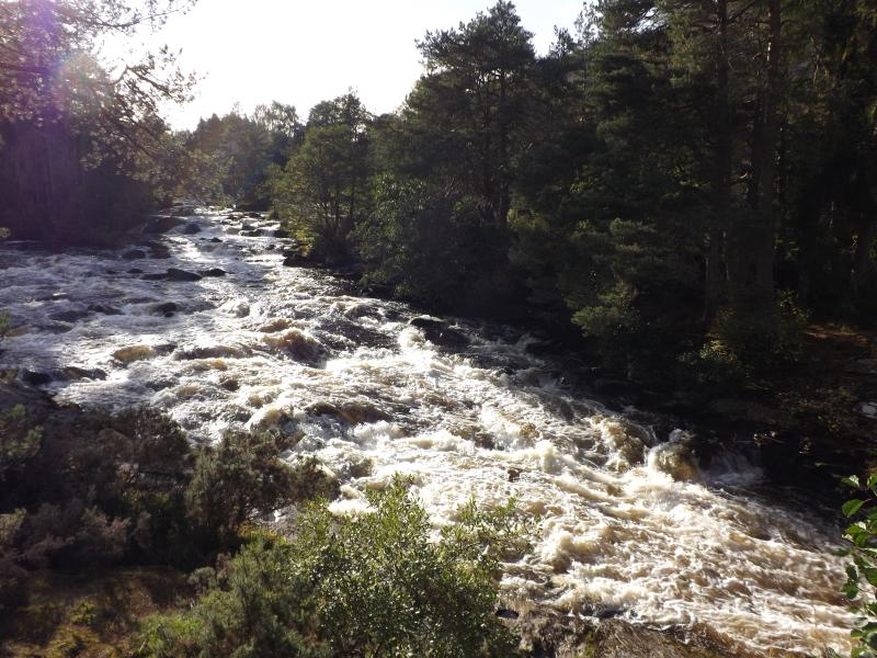 Local attraction The Falls of Dochart