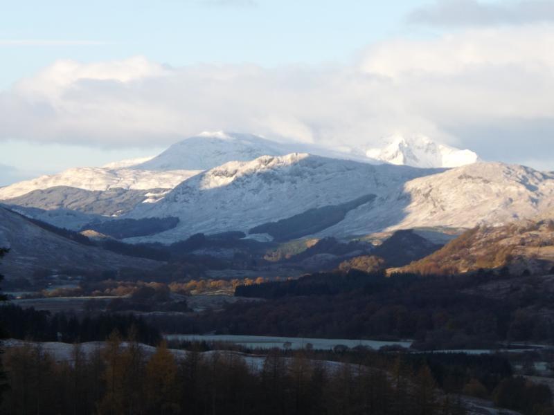A snow-capped Glen Dochart