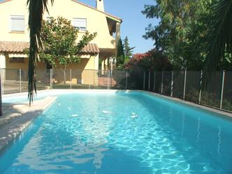 Villa Ecluses- private pool with child guard