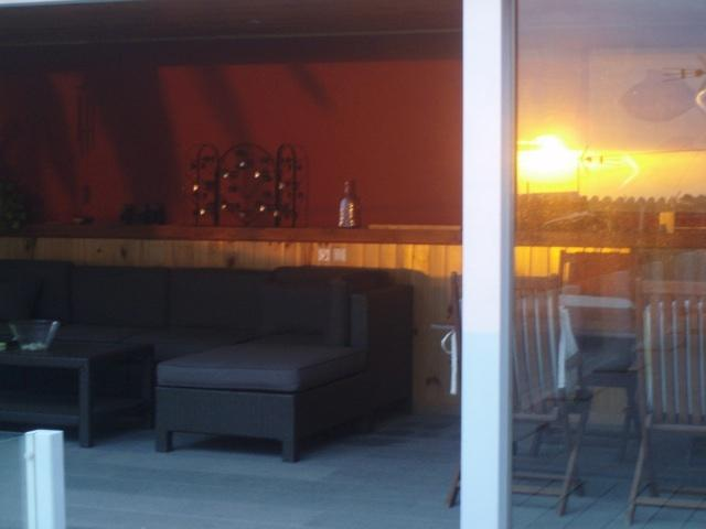 SUNSET FROM THE CHILL OUT