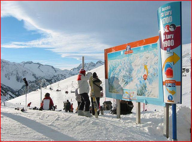 Saint Lary Ski Resort - 100kms of well-pisted runs. Easy access from Farmhouse.