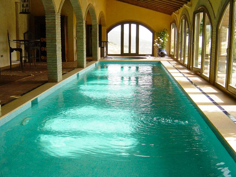Enjoy a swim whatever the weather in our heated indoor swimming pool 13m x 3m