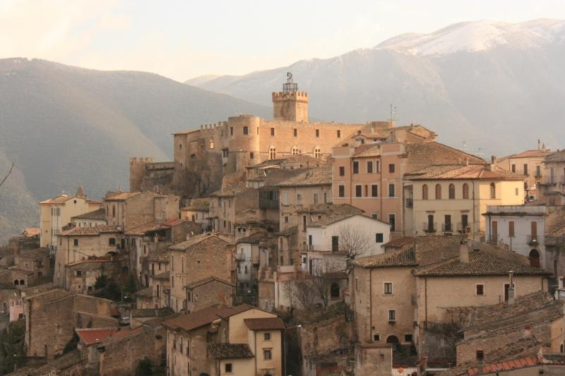 Founded in the 13th C, Capestrano is filled wiith history and lovely people