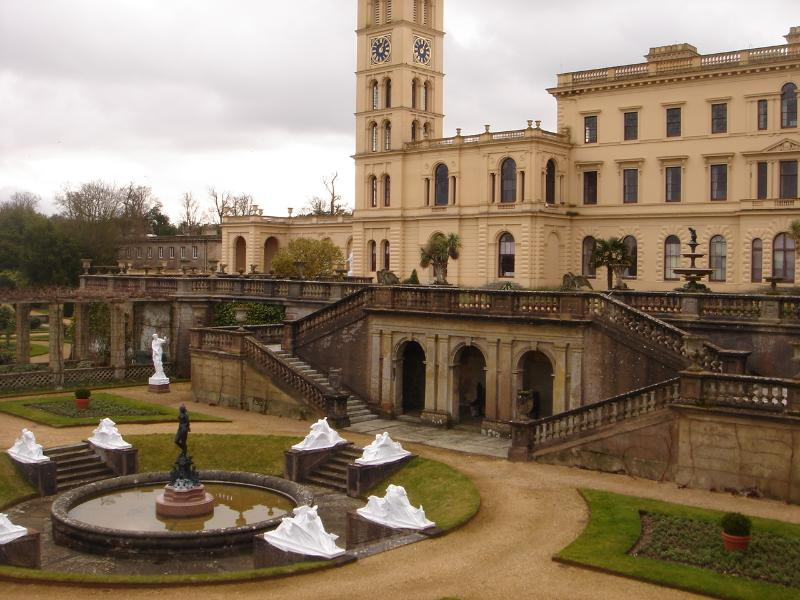 Osborne House - quite near to Marinus