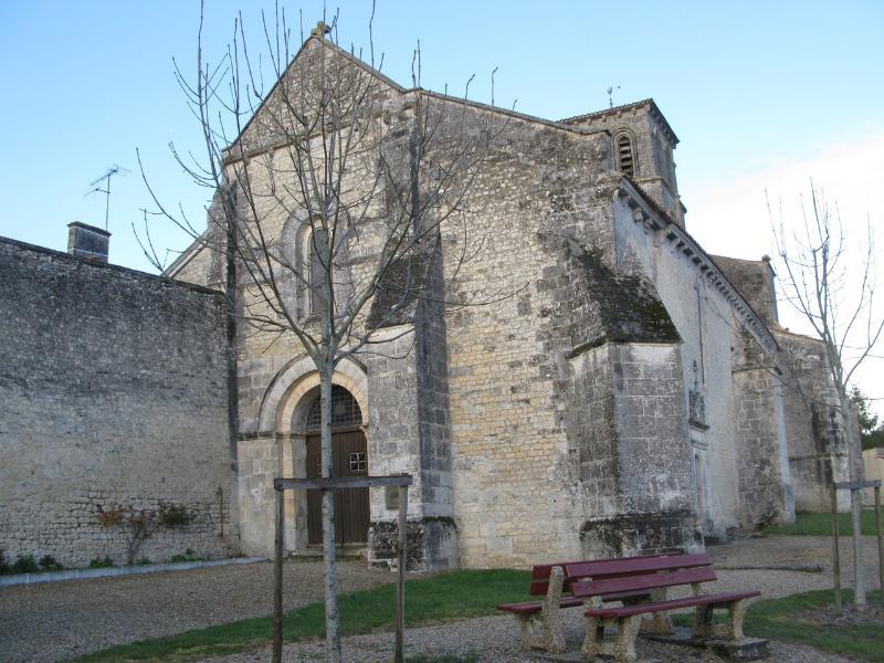 L'église de Juillac-le-Coq
