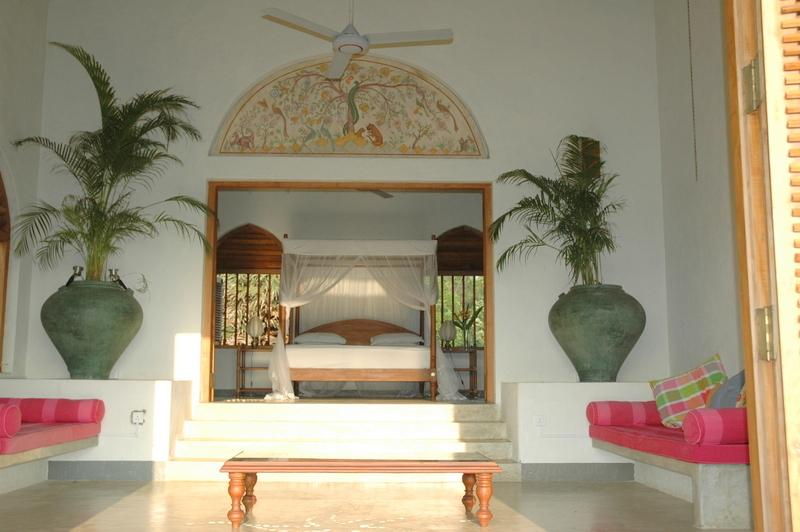 Master bedroom suite - views over the sea