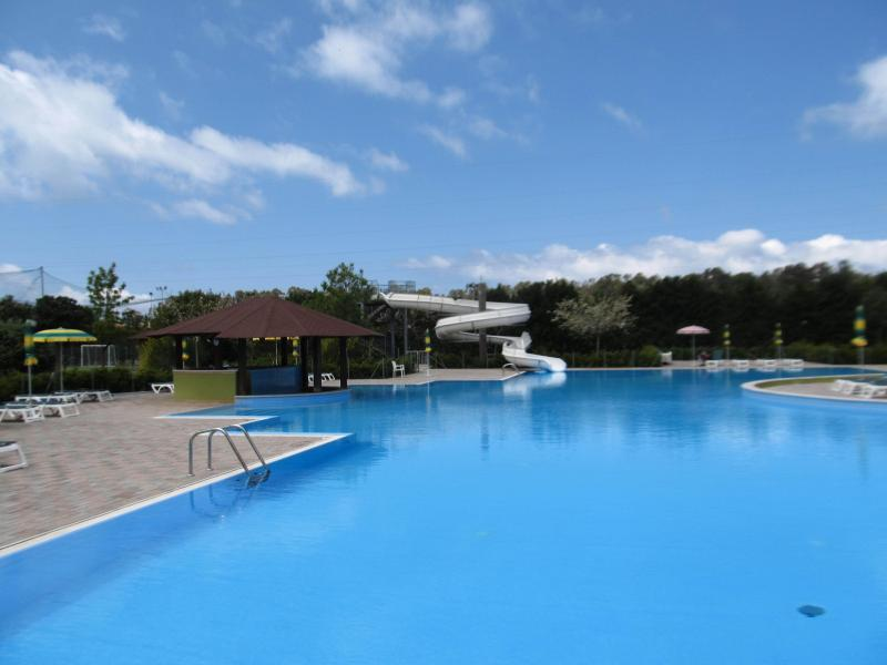 Pizzo Beach Swimming Pool with Water Slide