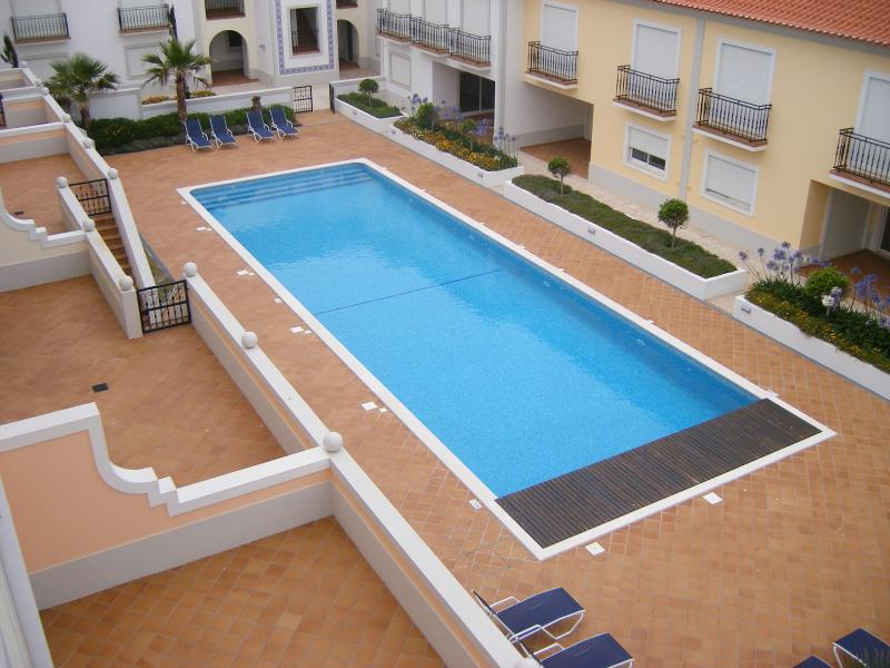 Private Swimming Pool viewed from Balcony