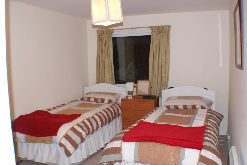 Kangei twin room with en suite