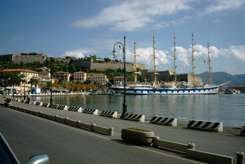 de haven van Portoferraio