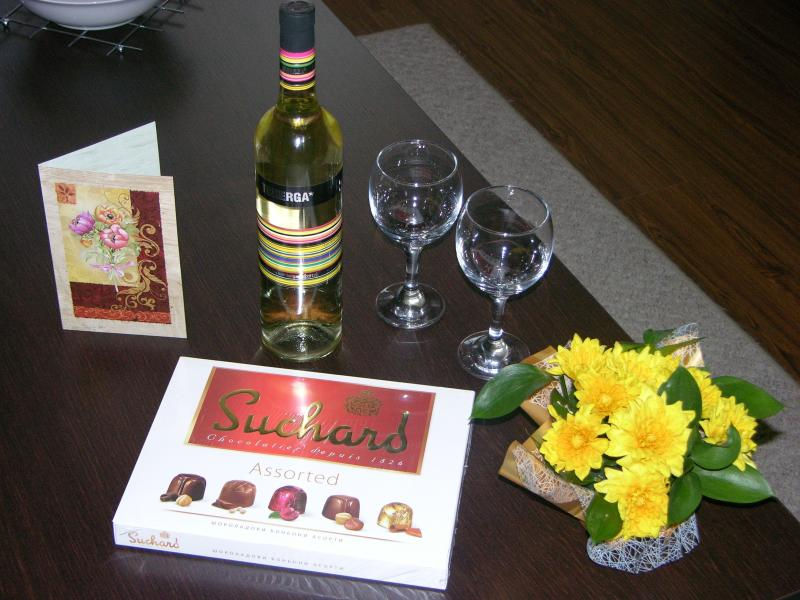 Welcome packages can be arranged