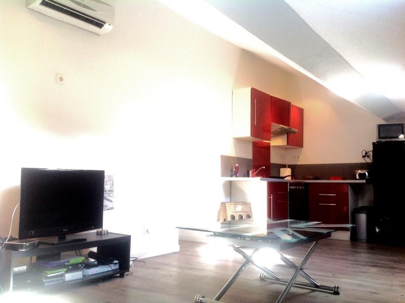 studio tres lumineux centre ville de Corte, location de vacances à Vénaco