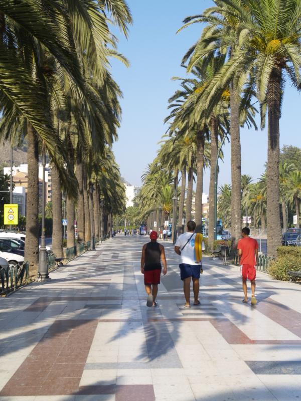 Malaga city centre