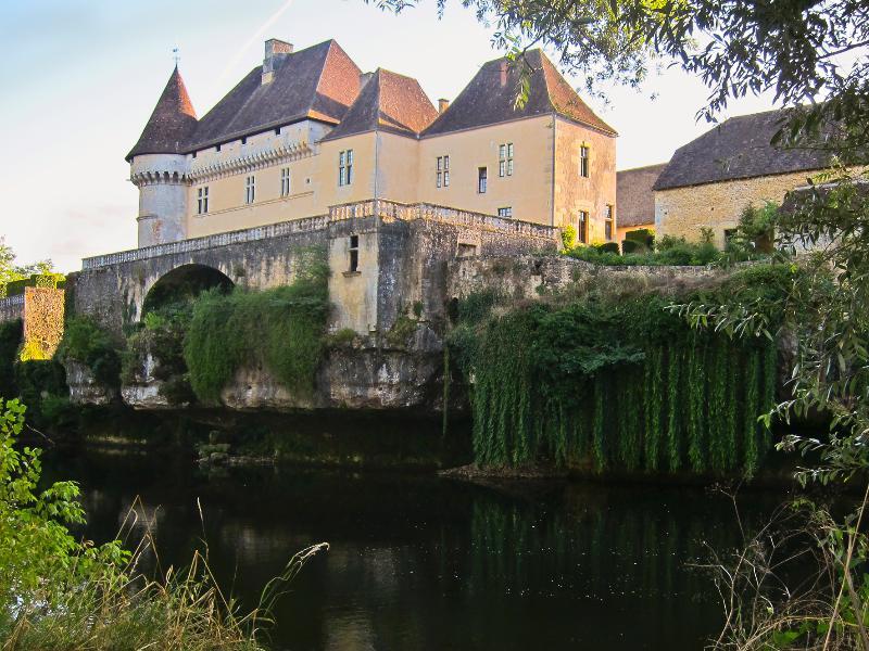 Majestic Renaissance style Chateau de Losse overlooking the Vezere River