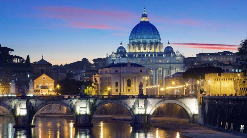 Rome city center at 25 km to reach in 30 minutes with metro