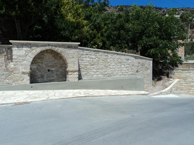 Traditional Spring 'Kria Vrisi' Episkopi village