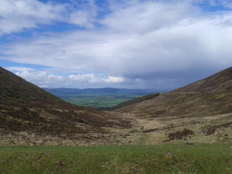La Vee, les monts Knockmealdown