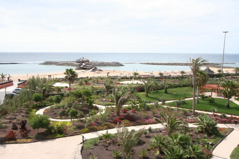 Beach in front of Atlantico Centre